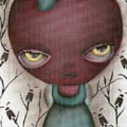 Apple Lady Art Print