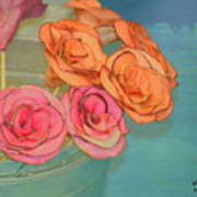 Apple Roses Art Print