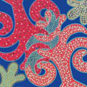 Apple Tree And Cacti Art Print