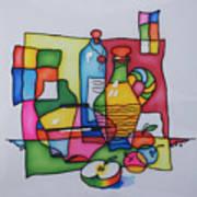 Apple Wine Art Print
