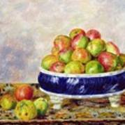 Apples In A Dish Art Print