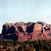 Approaching Sedona Art Print