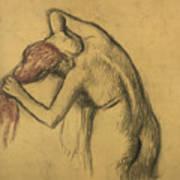 Apres Le Bain Femme S'essuyant Art Print
