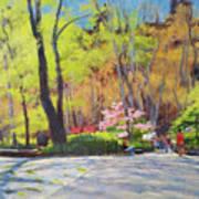 April Morning In Carl Schurz Park Art Print