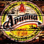 Apuaha Beer Sign Art Print