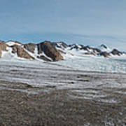Apusiaquik Glacier Greenalnd Pano 7334-7351 Art Print