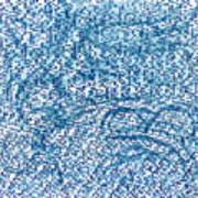 Aqua Minerale Art Print