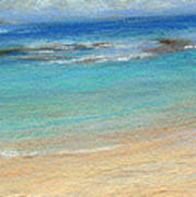 Aqua Moloa'a Art Print