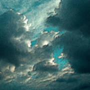 Aqua Sky Art Print