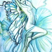 Aquafairie Art Print
