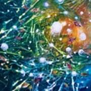 Aquarium Galaxy Art Print