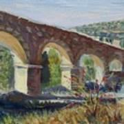 Aqueduct Near Pedraza Art Print