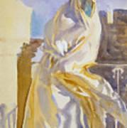 Arab Woman Art Print