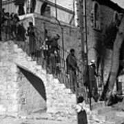 Arab Youths In Bethlehem 1938 Art Print