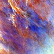 Australian Desert From Space Art Print