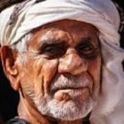 Arabian Old Man Art Print