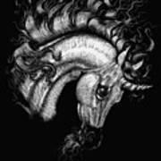 Arabian Unicorn 2 Art Print