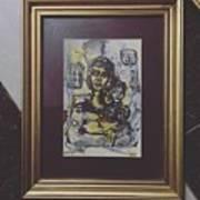 Arabic Art Art Print