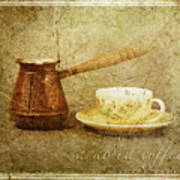 Arabica Coffee Art Print