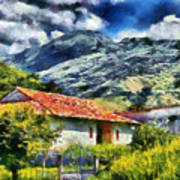 Aragua Valley Art Print