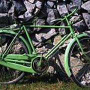 Aran Islands, Co Galway, Ireland Bicycle Art Print