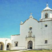 Mission La Bahia Art Print