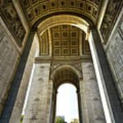 Arc De Triomphe Paris Art Print