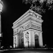 Arc De Triomphe Paris, France  Art Print