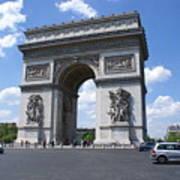 Arc De Triumph In Paris 2 Art Print