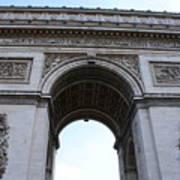 Arc De Triumph In Paris Art Print