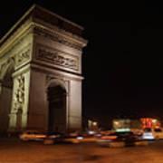 Arc Du Triomphe Paris Art Print
