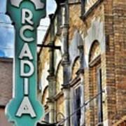 Arcadia Theater Art Print