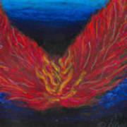 Arch Angel Gabrielle  Art Print