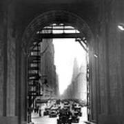 Arch At Grand Central Station Art Print
