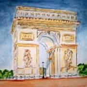 Arch De Triumph  Art Print
