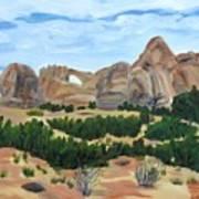 Arch In Landscape Art Print