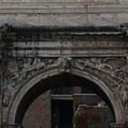 Arch Of Septimius Severus Art Print