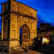 Arch Of Titus In Rome Art Print