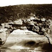 Arch Rock, Santa Cruz, California Circa 1900 Art Print