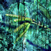 Archaic Blue Dream Art Print