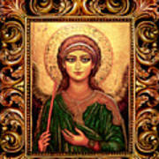 Archangel Gabriel Art Print