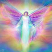 Archangel Raphael Healing Art Print
