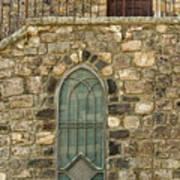 Arched Door And Window Art Print