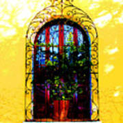 Arched Window By Darian Day Art Print