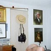 Archery And Art And Camera And Historypart Of My Studio Art Print