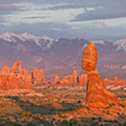 Arches National Park Sunset Art Print