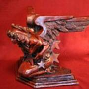 Architectural Angel Art Print by Larkin Chollar