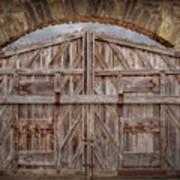 Archway Gate Art Print