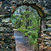 Archway To The Forest Art Print