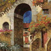 Arco Al Buio Art Print by Guido Borelli